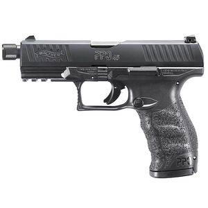 "Walther PPQ SD M2 Striker Fired Full Size 45 ACP 4.9"" Barrel Polymer Frame Black Finish Fixed Sights 12Rd 2 Magazines -2829231"