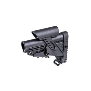 CAA AR-15/M4 Collapsable Butt Stock with Integrated Cheek Piece