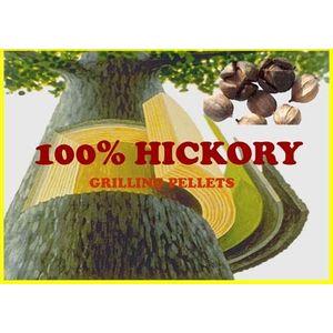 Lumber Jack 40LB 100% Hickory Pellets - Strong hickory flavor, traditional blend