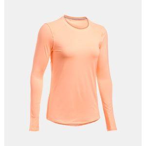 Under Armour Women's The 50 Sunblock Long Sleeve Shirt - Playful Peach