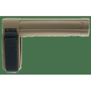 """SB Tactical SBL-02-SB AR Brace SBL 7.8"""" L x 1.6"""" W Elasto-Polymer Flat Dark Earth"""