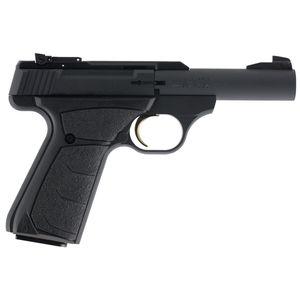 "Browning Buck Mark Micro Bull Single 22 Long Rifle (LR) 4"" 10+1 Black Ultragrip FX Grip Black Aluminum Alloy"