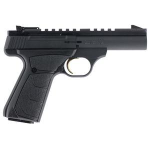 "Browning Buck Mark Micro Field/Target Single 22 Long Rifle (LR) 4"" 10+1 Black Ultragrip FX Grip Black Aluminum Alloy"
