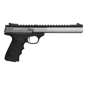 """Browning Buck Mark Contour Semi Auto Pistol .22 LR 7.25"""" Barrel 10 Rounds Synthetic Grips Black/Stainless Steel"""