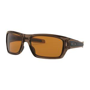 Oakley Turbine Brown Smoke Dark Bronze Sunglasses