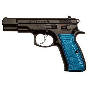 CZ CZ75B 16rd Blue Anodized Wicked Grips