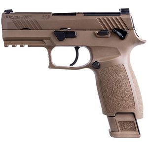 Sig Sauer P320 M18 Pistol 9mm 21rd NS MS - One Mag