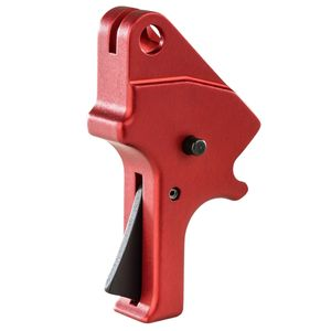 APEX TACTICAL SPECIALTIES 100055 Flat Faced Forward Set Sear & Trigger Kit S&W M&P 9,40 Drop-in Red