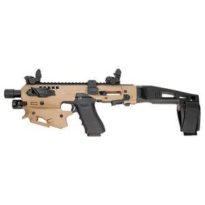 Command Arms MCK21TA MCK Advanced Conversion Kit Fits Glock 20/21 Gen3 Flat Dark Earth Synthetic Stock