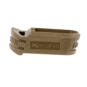 Springfield Armory XDS5902MFDE XD-S  Mid-Size Mag Sleeve 9mm Luger Flat Dark Earth Polymer for Backstrap 2