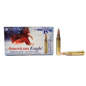 Federal LAKE CITY 5.56 55GR FMJ Boat Tail 20RDS