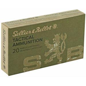 Sellier & Bellot 5.56x45 - 55gr - 20rds