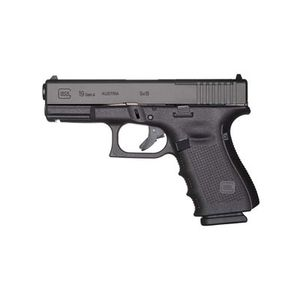 GLOCK 19 GEN 4 9MM 15 ROUNDS MOS