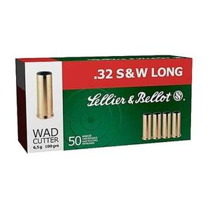 Sellier & Bellot 32 S&W Long - 100gr 50rds - WC