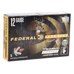 "Federal Premium 12ga  3"" Trophy Copper Tipped Sabot Slug"