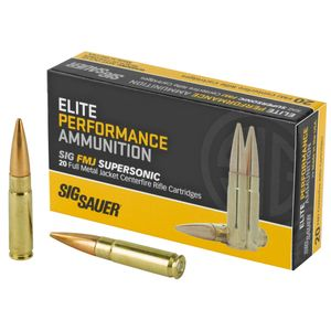 Sig Sauer 300 AAC Elite Performance 125gr FMJ Supersonic