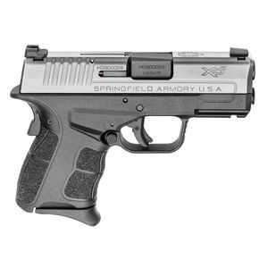 "Springfield XD-S Mod.2 9mm Luger Double 3.30"" TNS 7+1 Black Polymer Grip/Frame Stainless Steel Slide"