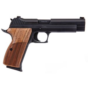 "Sig Sauer P210 Standard 9mm 5"" Barrel 8 Rounds Walnut Grip"
