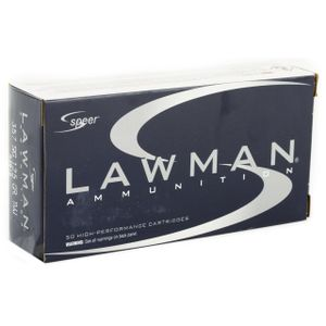 Speer Lawman 357 Sig 125gr TMJ 50rds
