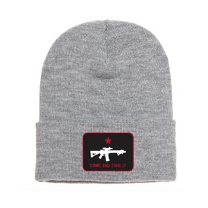 Howitzer Come And Take It Beanie Heather Grey