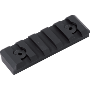Timber Creek 5 Slot Picatinny Rail - Black