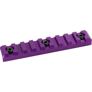Timber Creek 9 Slot Picatinny Rail Purple