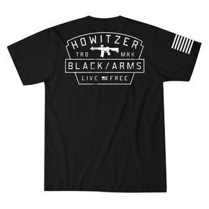 Howitzer Arms Badge Tee Black