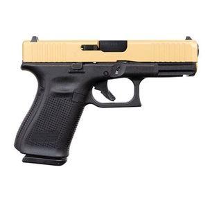 Glock 19 Gen 5 15 Rounds Gold Slide