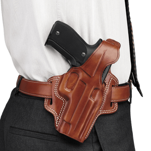 Galco Fletch Concealment Belt Holster Right Hand Tan Beretta 92F