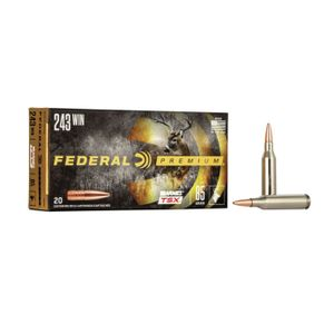 Federal 243 Win 85 Gr 20 Rounds