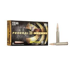 Federal Premium 270 WIN Berger Hybrin Hunter 140gr 20rds