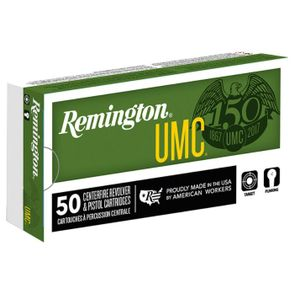 Remington UMC 9mm Luger Ammunition 115 Grain FMJ 1145fps