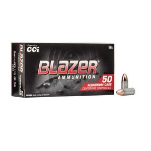 CCI BLAZER 3509 9MM 115GR FMJ ALUMINUM CASE