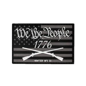 Howitzer 1776 Morale Patch - Black