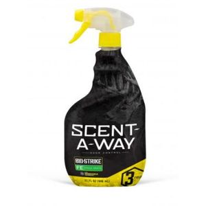Hunters Specialties Scent - Away Bio-Strike Spray Fresh Earth 32oz