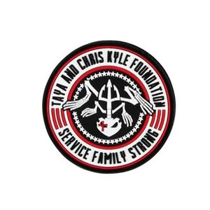 Howitzer CK Kyle Foundation Morale Patch - BlackHowitzer CK Kyle Foundation Morale Patch - Black