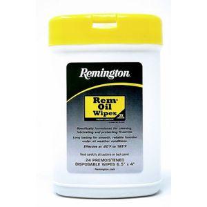 Remington Rem Oil 24ct Pop-Up Disposable Wipes (6.5x4)