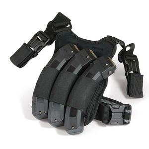 ADAPTIVE TACTICAL TRIPLE MAG DROP LEG STORAGE POUCH FOR RUGER 10/22 MAGAZINES