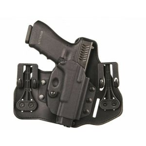 Blackhawk Suede Leather Tuckable Pancake Holster, Springfield XDS