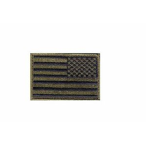 Blackhawk Patch, American Flag Subdued Reversed Image Approx 2 x 3