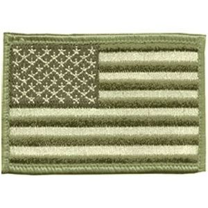 Blackhawk Patch, American Flag Subdued Approx 2 x 3