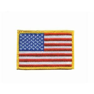 Blackhawk Patch, Red, White and Blue USA Reversed Image 2 x3