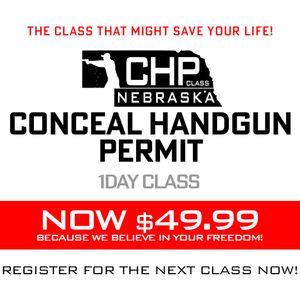 Nebraska Concealed Handgun Permit Course - 1 Hour lunch Break