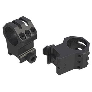 """Weaver Tactical 6 hole 1"""" High Rings fits up to 44mm Obj Lens"""