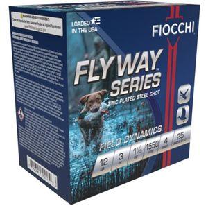 "Fiocchi 123ST154 Speed Steel Warlock Steel 12 Gauge 3.00"" 1 1/5 oz 4 Shot 25 Bx"