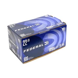 Federal 22LR 40GR 800rd Range Pack