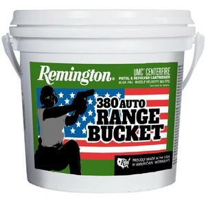 Remington 380 FMJ 95gr - 300 count bucket