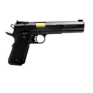"Nighthawk Custom 9654 Chairman 9mm 6"" Slide w/Windows & Heavy Angle Lightning Cuts"